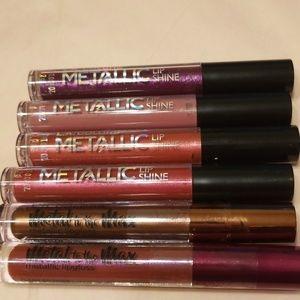 ❤NEW Metallic & Metal L A Colors Lipgloss